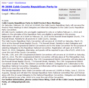 Cobb-GOP-Mass-Precinct-Call